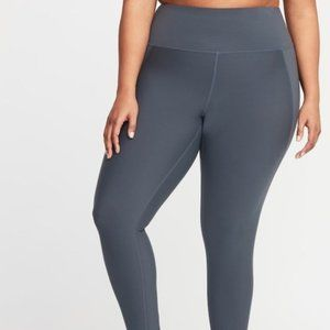 Old Navy 2X Plus 7/8 Ankle Active Leggings T-32